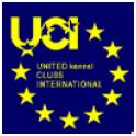 UCI (Международный союз кинологических клубов) logo